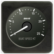 B&G H5000 analoginen BOAT SPEED 25KT