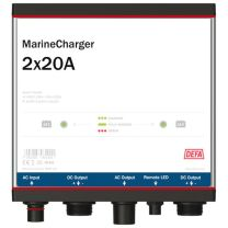 Defa MarineCharger 2x20A 12V