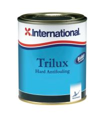International Trilux antifouling 0,75 l Musta