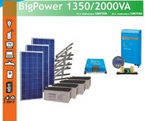 Eurosolar Big Power 1350/2000VA  aurinkovoimala