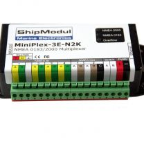 Shipmodul MiniPlex-3E-N2K  4-port NMEA Ethernet multiplexer with NMEA2000 port