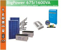 Eurosolar Big Power 675/1600VA  aurinkovoimala