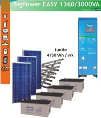 Eurosolar Big Power EASY 734, 230V/3000W aurinkovoimala