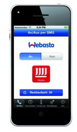 Webasto Thermo Call TC4 Advanced GSM ohjain lämmitimelle.